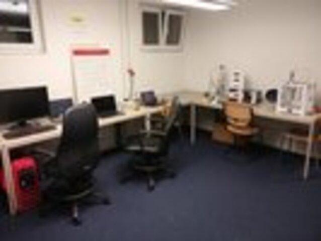 Foto des Labortischs